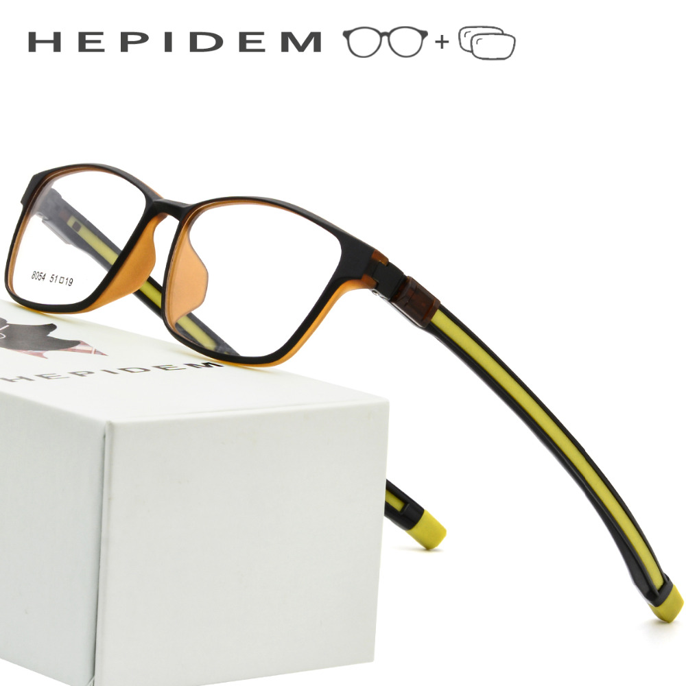 e22fa0479a Adjustable Optical Prescription Glasses Frame Men 2018 TR90 Magnet Sports  Square Hanging Neck Magnetic Eyeglasses Myopia