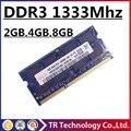 Hynix DDR3 1333 4 ГБ 2 ГБ 8 ГБ PC3 10600 So-dimm Памяти Ноутбука, Ram DDR3 4 ГБ 1333 МГц PC3-10600 Ноутбук, Memoria Оперативной Памяти DDR3 DDR 3 4 ГБ