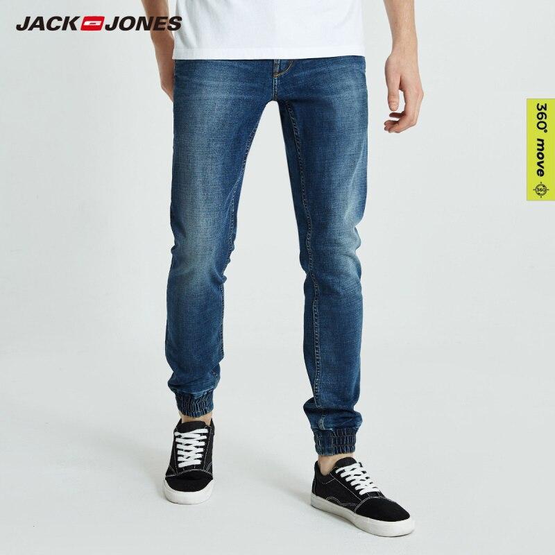 JackJones Men's Autumn&Winter Slim Fit Ankle-banded   Jeans   Men's Pants 218332565