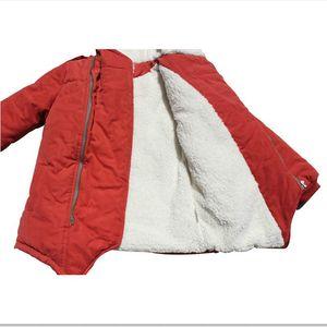 Image 4 - Winter Jacket For Boy Fashion Kids Casual Jackets Boys Cashmere Long Sleeve Hooded Coats Warm Boys Clothing Outwears Jackets