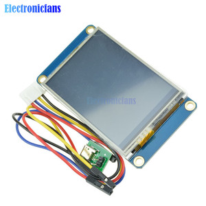 """Image 4 - 2.4"""" 2.4 Inch TFT 320 x 240 Resistive Touch Screen UART HMI LCD Module Display for Arduino Raspberry Pi TFT English Nextion"""