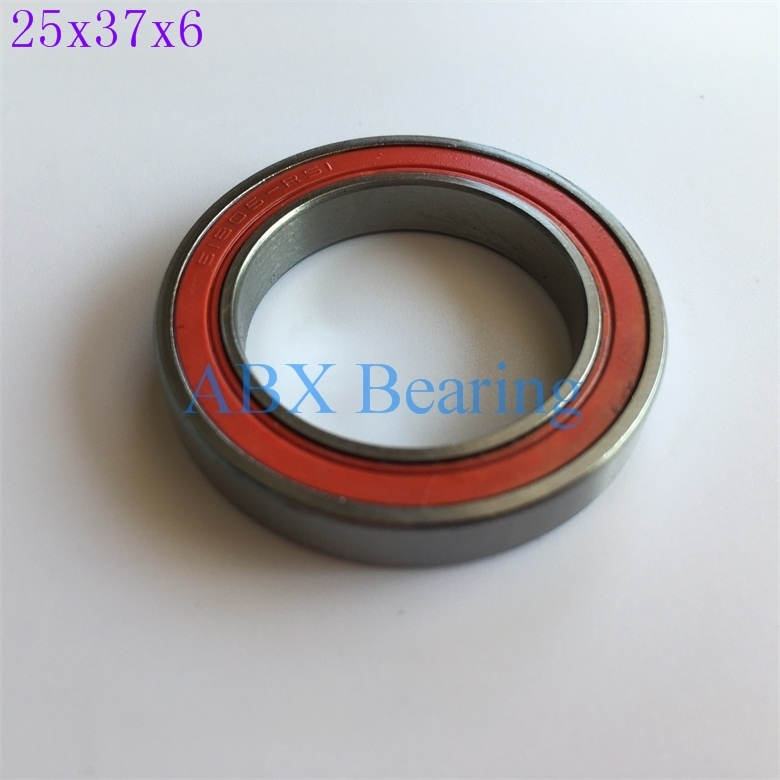 6805N-RS 6805 61805 6805N 6805-RD 25376 ball bearing 25x37x6mm bike bottom bracket repair bearing for HT2 BB51 GCR15 BB86 6805n hybrid ceramic bearing 25x37x6mm 1 pc bicycle bb51 bottom hub 6805 rd 6805n rs 25376 rs si3n4 ball bearings 6805n 2rs