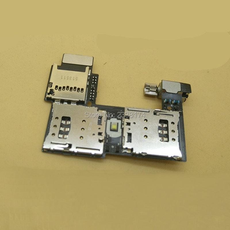In stock ! For Motorola Moto G2 XT1068 XT1069 New Dual SIM Card Slot Tray Reader Holder Socket Flex Cable Repair Parts