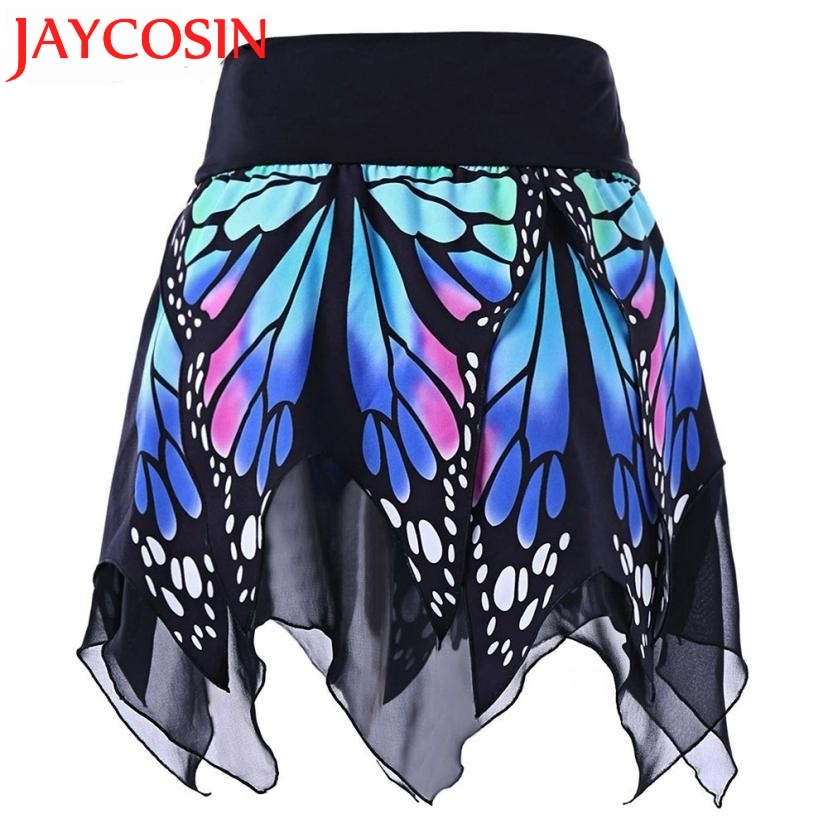 JAYCOSIN 2018 Women Butterfly Fashion <font><b>Girls</b></font> <font><b>Sexy</b></font> High Waist Uniform Pleated Skirt skirts womens Dropshipping July <font><b>18</b></font> image