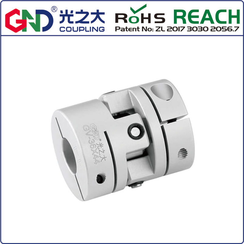 Coupling shaft coupling GND aluminum alloy D26 L36 universal joint clamp for CNC coupler vibration,parallel angular misalignmentCoupling shaft coupling GND aluminum alloy D26 L36 universal joint clamp for CNC coupler vibration,parallel angular misalignment