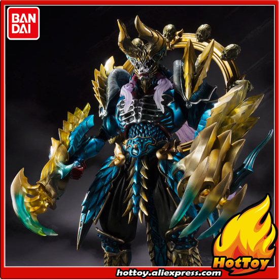 "Original BANDAI Tamashii Nations S.H.Figuarts (SHF) Tamashii MIX Action Figure - Jashin Kakusei Zinogre from ""Monster Hunter"""