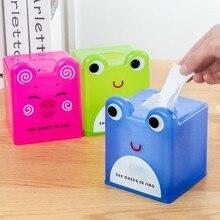 Cute cartoon animal tissue box paper tube storage box  tissue box  tissue case 12*12*14.5cm Free shipping