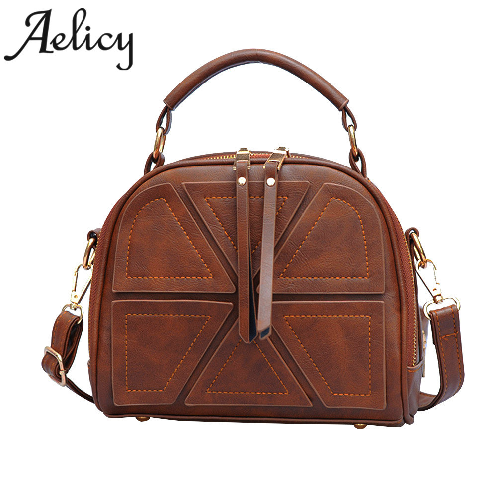 Aelicy 2017 Fashion Designer Women Messenger Bags Ladies Handbags Women Patchwork Bags Totes Woman Crossbody Bags