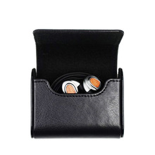 New Magnetic PU leather Case for Earphone Bag Box Headphones Portable Case Headphone Sundries Accessories Headset Storage Bag