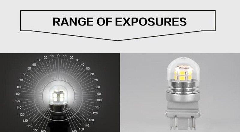 6000K 3157 Avtomatik LED Avtomobil lampaları Əyləc İşıq - Avtomobil işıqları - Fotoqrafiya 4