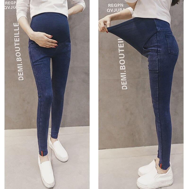 Vaqueros Skinny Para Las Mujeres Embarazadas Pantalones De Cintura Alta Pantalones De Maternidad De Enfermeria Embarazo