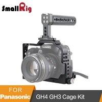 SmallRig для Panasonic Lumix DMC GH4/GH3 Камера Cage Kit с верхней ручкой и HDMI зажим 1980