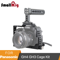 SmallRig For Panasonic Lumix DMC GH4/GH3 Camera Cage Kit with Top Handle and HDMI Clamp 1980