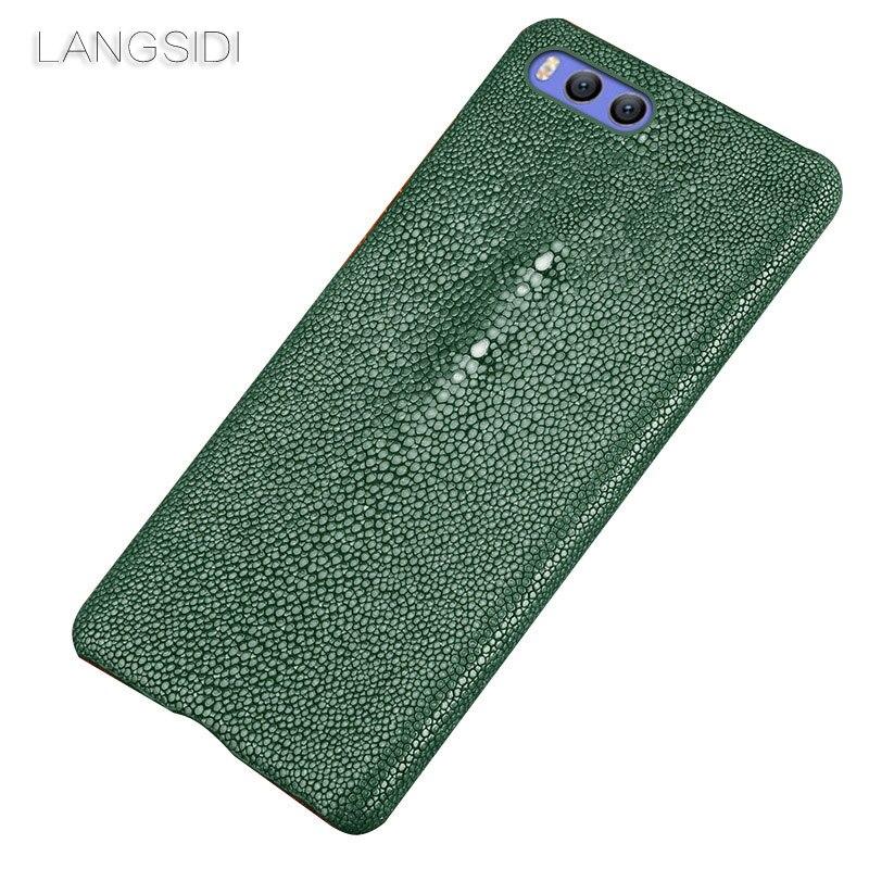 Wangcangli marque étui de téléphone portable perle poisson demi-paquet étui de téléphone pour Xiaomi note4x coque de téléphone à la main traitement personnalisé