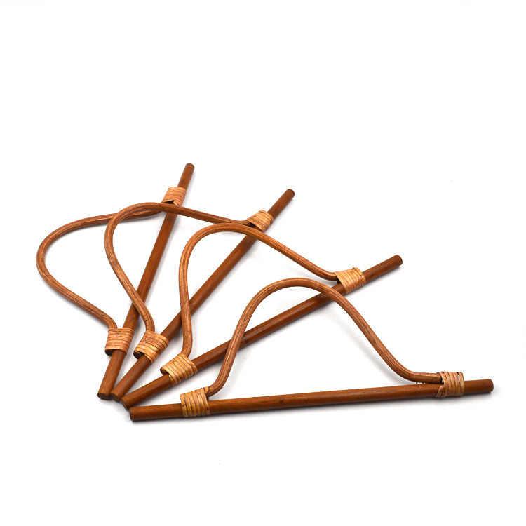 ... 32 cm Rattan Wooden Handle Bamboo Purse Bag Handle Wooden Purse Frame  Handle Obag Diy Handbag ... d19768544c0cb
