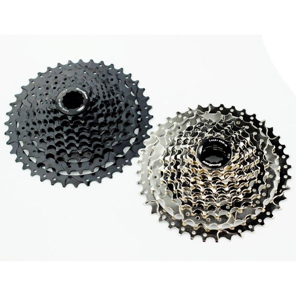 Sunrace 9 vitesses vtt Cassette csm990 40 T 11-40 T rapport large 9 s montagne roue libre roue libre noir argent 425g
