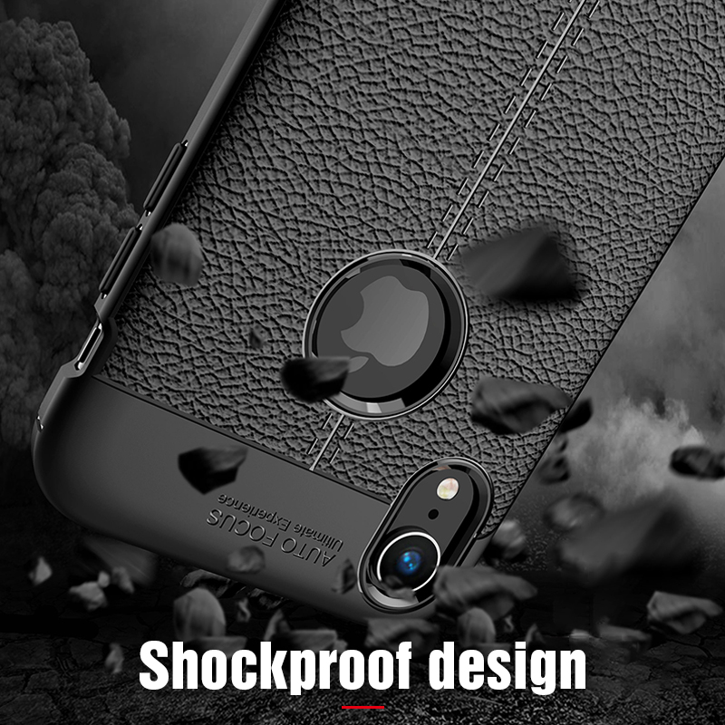 Carbon Silicone Case For iPhone Xs Xs Max Case 360 Luxury Leather Soft TPU Case For iPhone Xr Xs Max X 10 Case Coque             (13)