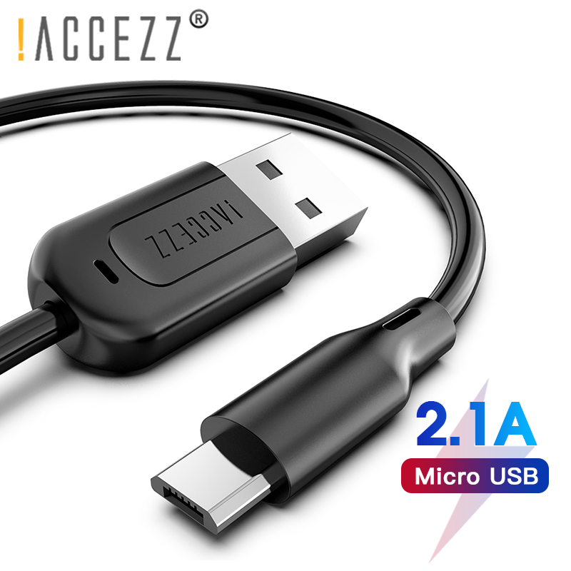 !ACCEZZ USB Data Cable Micro Android For Samsung S6 S7 Edge Charging Cord Line Xiaomi Huawei Phone charger Cables