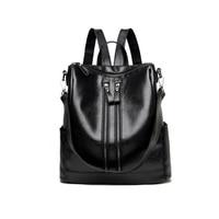 2017 New Backpack Women S Casual Fashion Handbag Bag Bag All Match Tide Backpack