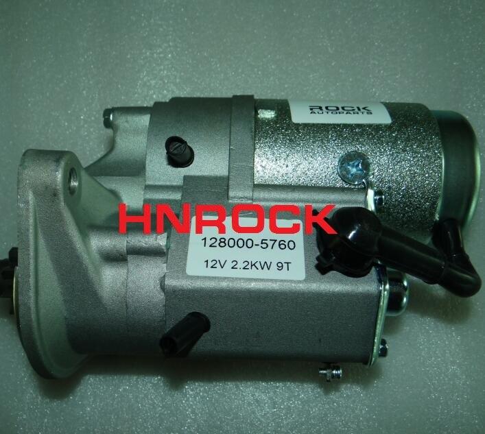 Starter Motor For Daihatsu Rocky 2.8, 128000-5760 28100-87316 1280005760 2810087316 31307