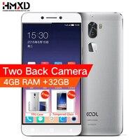 Original cool 1 Coolpad letv cool1 4G LTE Phone Octa Core Android 6.0 5.5 FHD 4G RAM 32G ROM Dual Back Cameras Fingerprint