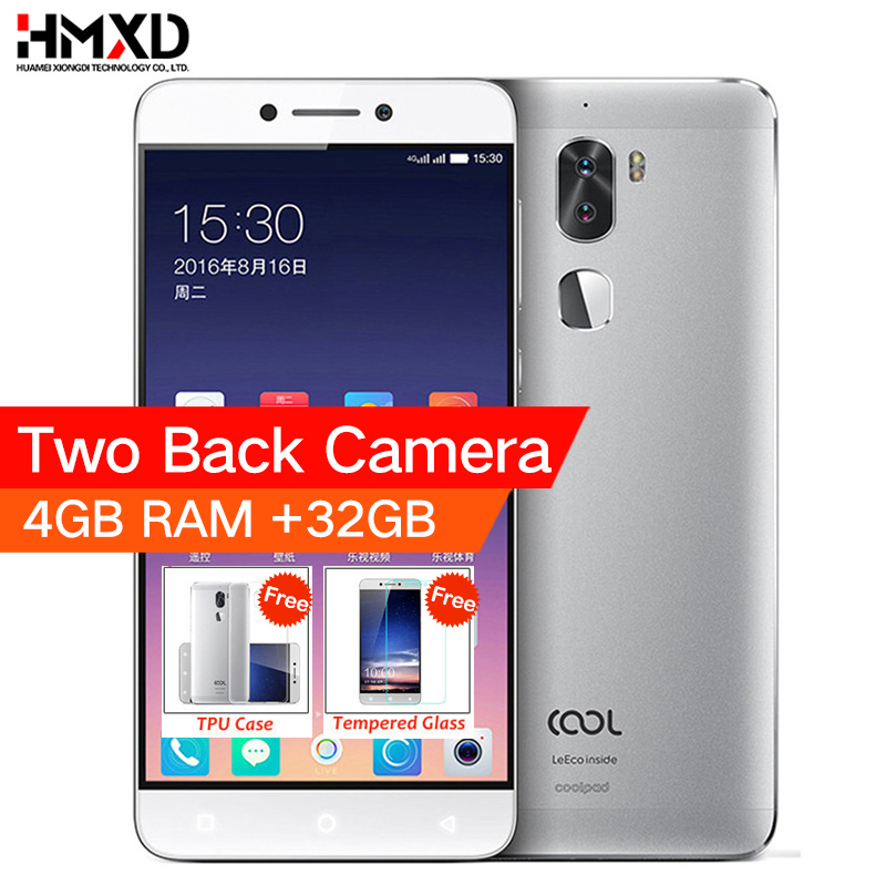 Original cool 1 Coolpad letv cool1 4G LTE Phone Octa Core Android 6.0 5.5 FHD 4G RAM 32G ROM Dual Back Cameras Fingerprint