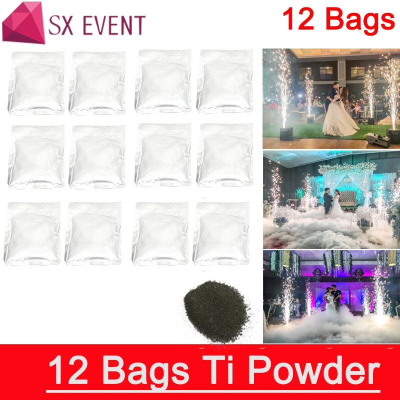 Titanium powder special  fountain 200G/Bag Metal Powder of Cold Firework Machine Fountain Machine Sparkular for Stag 12bags/lot Titanium powder special  fountain 200G/Bag Metal Powder of Cold Firework Machine Fountain Machine Sparkular for Stag 12bags/lot