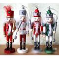 HT028 Envío Libre Acción y Del Juguete 14.5 CM brillo rey Cascanueces soldados amante regalo de cumpleaños de Navidad para niños juguetes 4 unids/lote