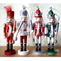HT028 Free shipping  Action & Toy 14.5CM glitter king Nutcracker soldiers lover birthday gift  children Christmas toys 4pcs/lot