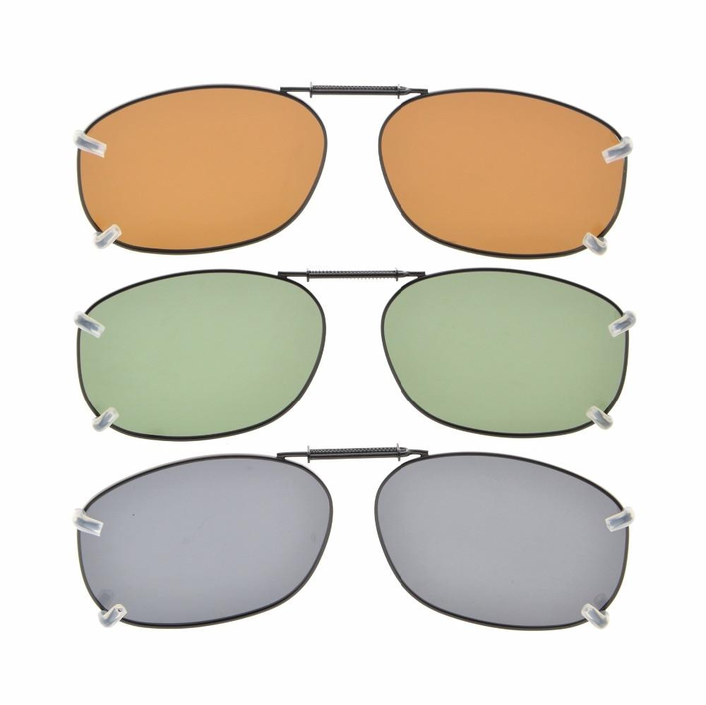 b087838b8 C89 Eyekepper Gris/Marrón/G15 Lente 3 pack Clip on gafas de Sol Polarizadas  54x37 MM en De los hombres gafas de sol de Accesorios de ropa en  AliExpress.com ...