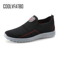 COOLVFATBO весенние кроссовки мужские повседневные туфли из сетчатого материала обувь для мужчин Лоферы черные модные мужские кроссовки для тр...