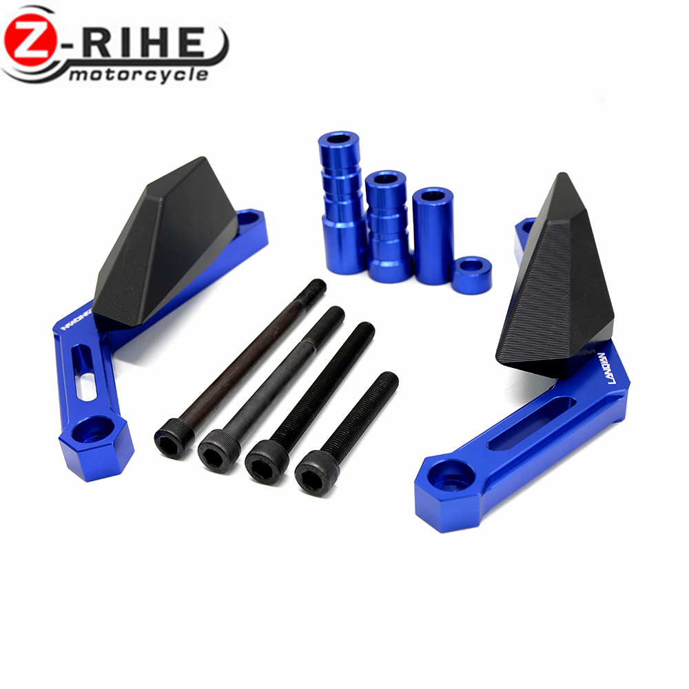 Motorcycle Frame Slider Motoecycles Crash Pads Protect Motorbike Falling Protector For Yamaha MT 09 MT09 MT-09 XSR900 2016 fz09