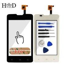 A + + + Nuevo TouchGlass Para Fly IQ449 449 Pantalla Táctil Digitalizador Lente de Cristal de Reemplazo del Sensor del Panel Frontal de Piezas Herramientas de Envío adhesivo