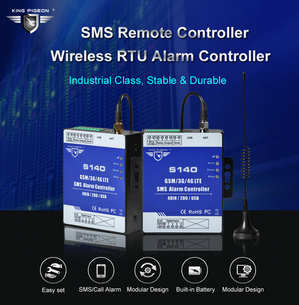 Lower Price with Ac Power Voltage Status Monitoring Alarm Remote Controller Sms Rtu For Base Transceiver Station Diesel Generator Rooms Farms A Great Variety Of Models Alarm System Kits