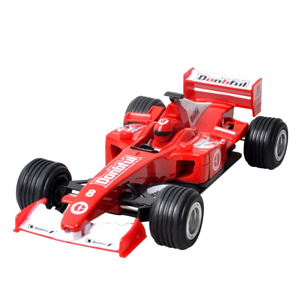 Racing Car Model Formula Car Racing Car Blue Plastic Kids Toy Ability Cultivation Truck Racing Car Toys For Children