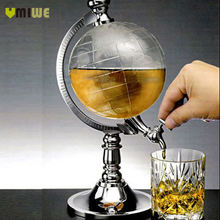 Bar decoration Creative mini globe water dispenser/ personality beer Liquid drinking machine home decor Wine Pourers Bar Tools