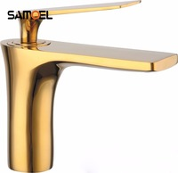 Innovative Fashion Style Home Multi Color Bath Basin Faucet Cold And Hot Water Taps Gold Black