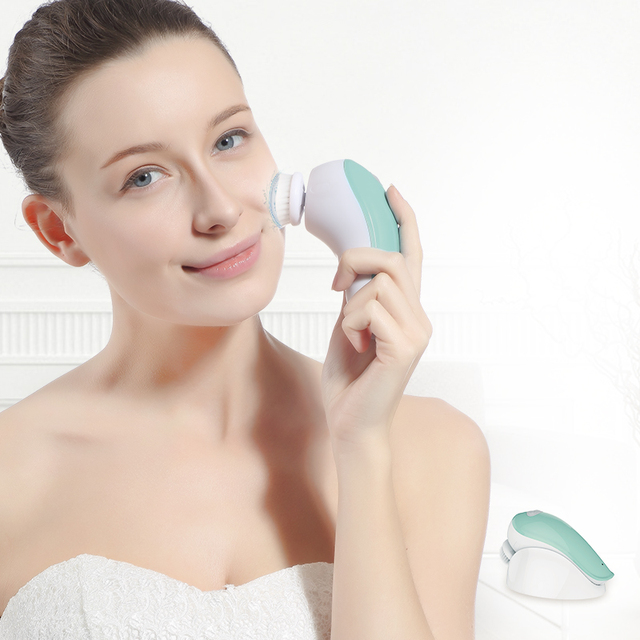 3-In-1 Electric Facial Cleansing Brush