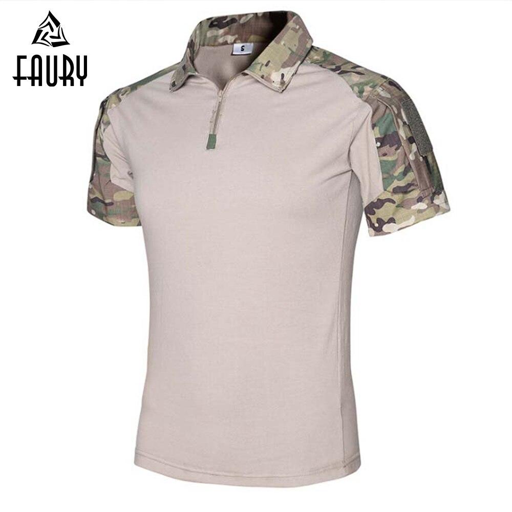 Uniforme militaire Multicam armée chemise de Combat hommes tactique équipement Camouflage amérique Tactica chemises grenouille vêtements équipement militaire