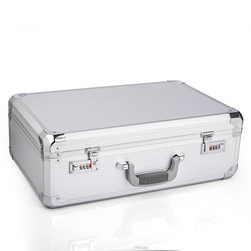 Caso de ferramentas de alumínio mala caixa