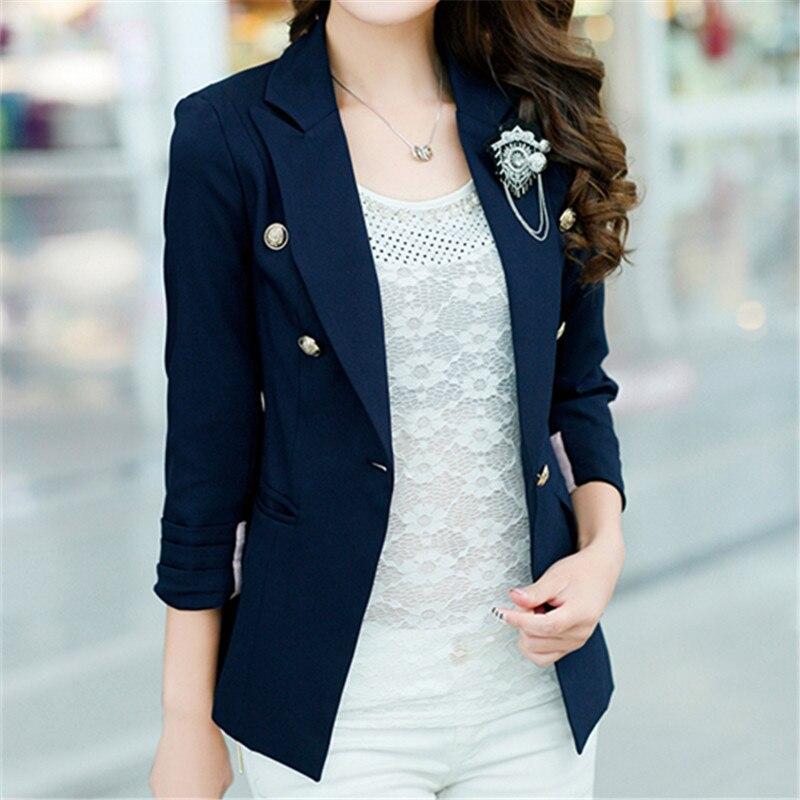 Blazers For Women: Navy Womens Blazer Jacket