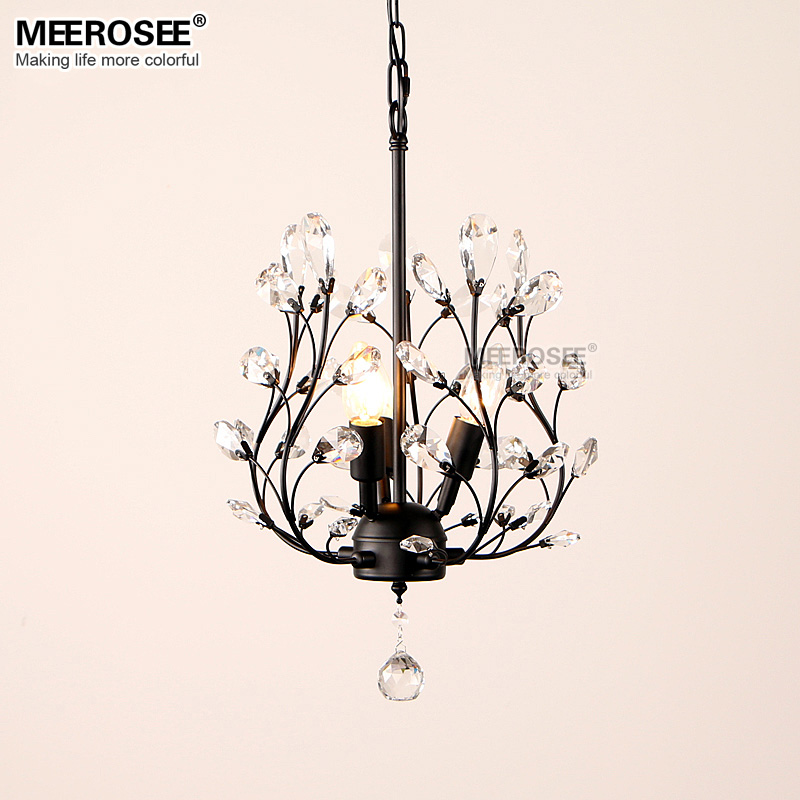 Modern Crystal Chandelier Light Fixture American Style Hanging