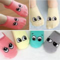 Cartoon Cute Lovely Newborn Baby Kids Socks Boys Girls Cotton Ankle Sock Print Big Eyes Anti Slip Floor Socks
