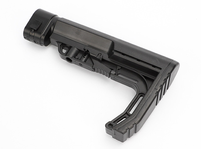 Tactical CS0911 Extensible Back Stock Parts Airsoft Hunting Gel Water Bomb Adjustable Toy Gun Rear Butt Accessories