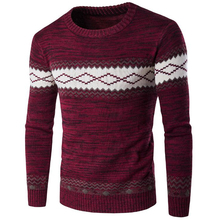 Male Sweaters European and American Appear Pullover Mens Sweater Warm Polo Sweater Brand Designer Mens Underwear Wholesale S034