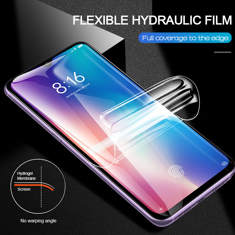Image 4 - 2pcs Screen Protector Hydrogel Film For Xiaomi Redmi note 7 8 5 pro Protective Film For Redmi note 7 4X 7A K20 pro Not Glass-in Phone Screen Protectors from Cellphones & Telecommunications