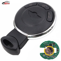 KEYECU Smart Remote Key Keyless Entry Control Clicker 3Button CAS System 868MHZ ID46 CHIP for Mini Cooper 2007 2014 Uncut Blade