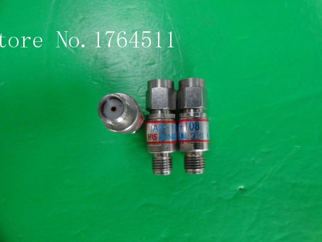 [BELLA] Supply Hirose HRS AT-108 DC-18GHz Att:8dB 2W SMA Coaxial Fixed Attenuator  --2PCS/LOT