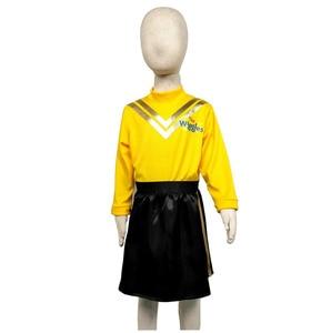 Image 3 - Kleid up als Emma von die Wiggles mit diesem fabulous gelb und schwarz outfit prinzessin kostüm Gelb Ballett Tutu kleid