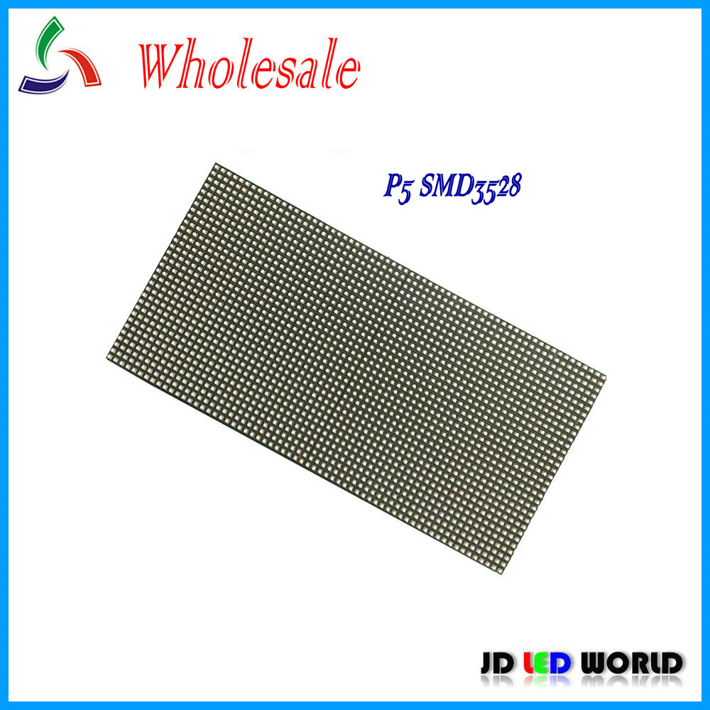 Optoelectronic Displays Official Website P5 Smd3528 Indoor Rgb Led Display Panel Module 64*32 Pixel 320*160mm Led Video Wall Led Advertising Video Board Easy To Lubricate